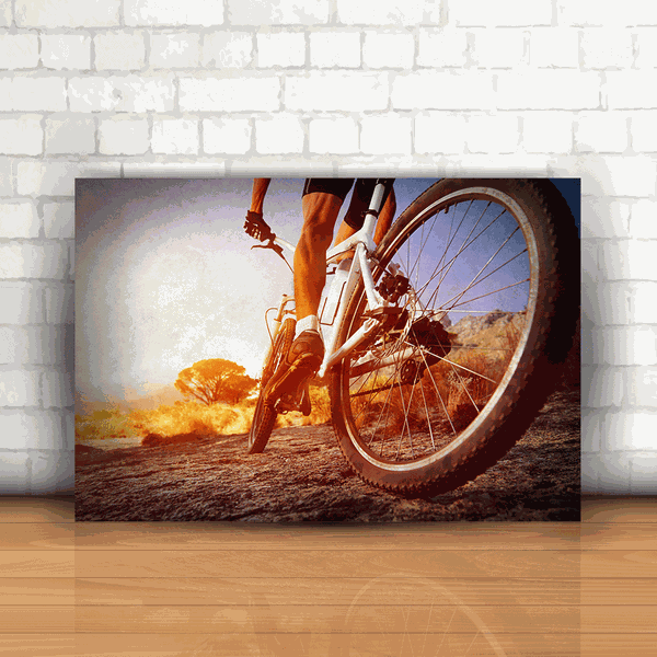Placa Decorativa - Mountain Bike