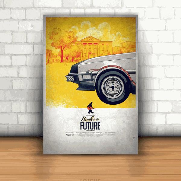 Placa Decorativa - De Volta Para o Futuro 1