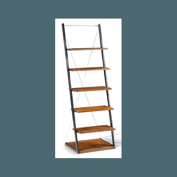 Estante Escada Duke Madeira Rústica Rennar