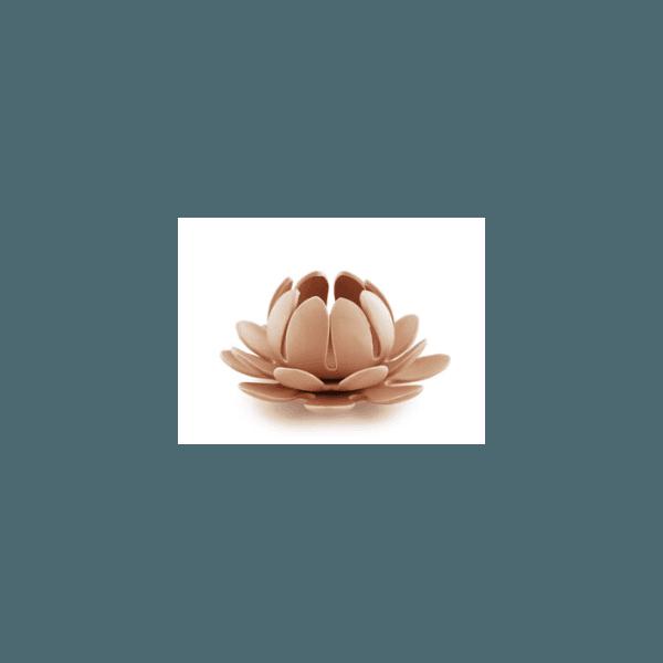 Porta Vela em Cerâmica Rose