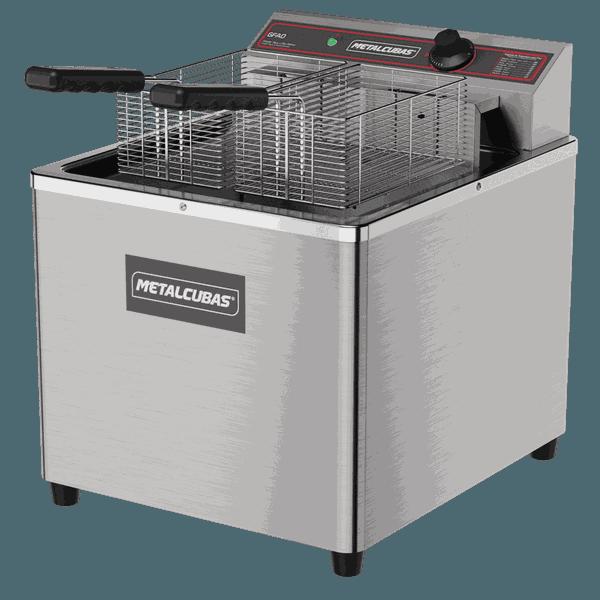 Fritadeira Comercial Metalcubas Elétrica 220V 18L - GFAO 18 de mesa