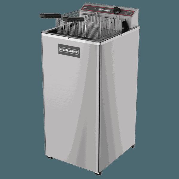 Fritadeira elétrica Metalcubas - GFAO 18 com pés