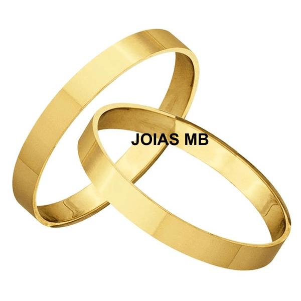 Alianças de Ouro 18k Ribeirão das Neves