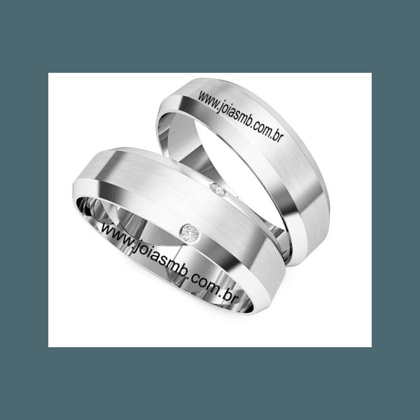 Alianças de Compromisso Divinopolis 6mm