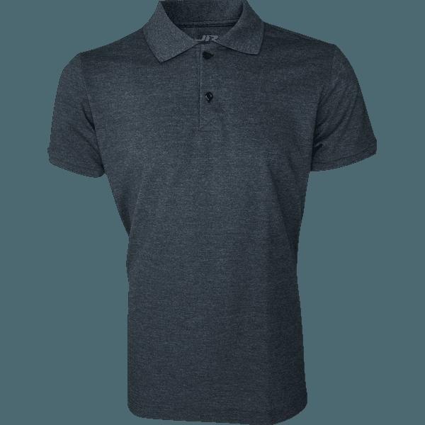 Camisa Polo Masculina Preto Mescla