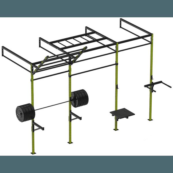 Gaiola/Rack Crossfit - 3 Módulos