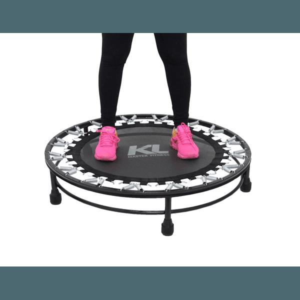 Mini Cama Elastica Trampolim Jump Profissional 150 Kg + Dvd