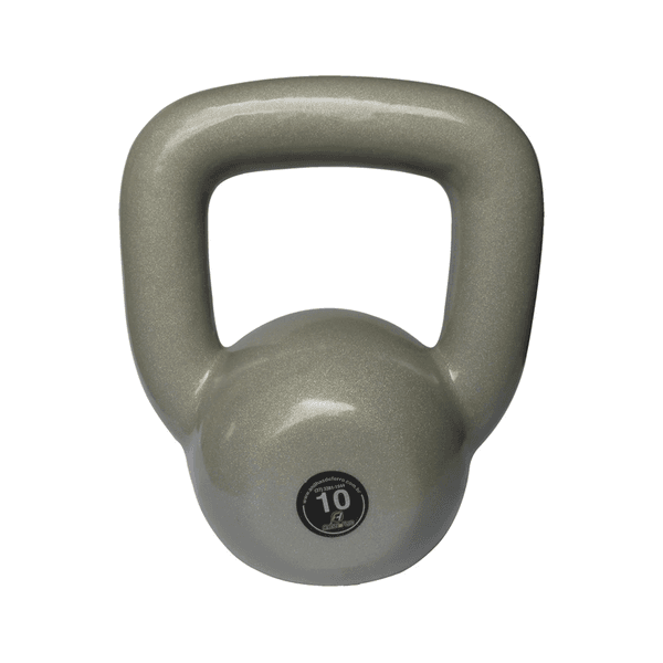 Kettlebell Emborrachado 10 Kg Crossfit Treinamento Funcional Musculação