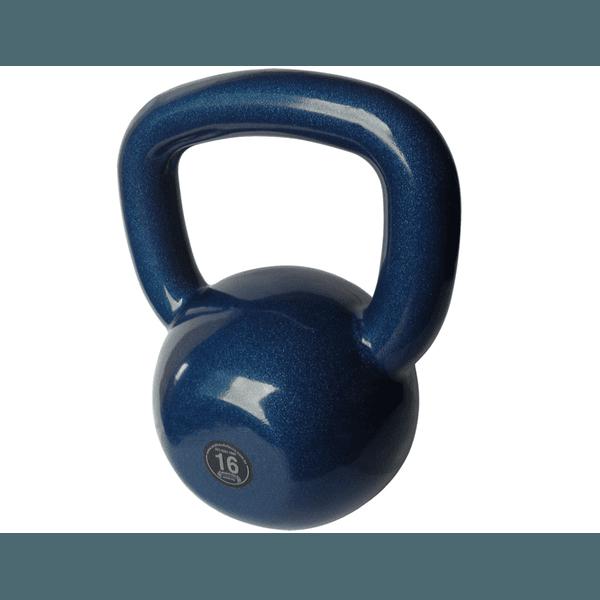 Kettlebell Emborrachado 16 Kg Crossfit Treinamento Funcional Musculação