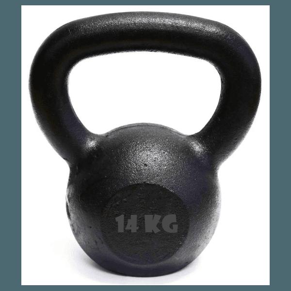 Kettlebell Pintado 14 Kg Crossfit Treinamento Funcional Musculação