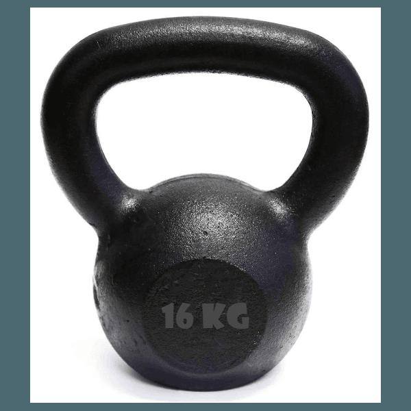 Kettlebell Pintado 16 Kg Crossfit Treinamento Funcional Musculação