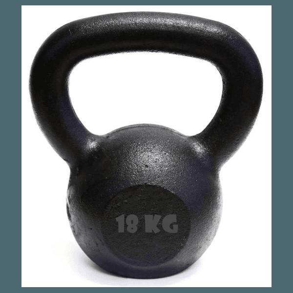 Kettlebell Pintado 18 Kg Crossfit Treinamento Funcional Musculação