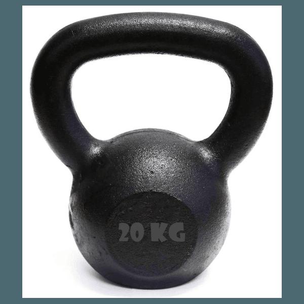 Kettlebell Pintado 20 Kg Crossfit Treinamento Funcional Musculação