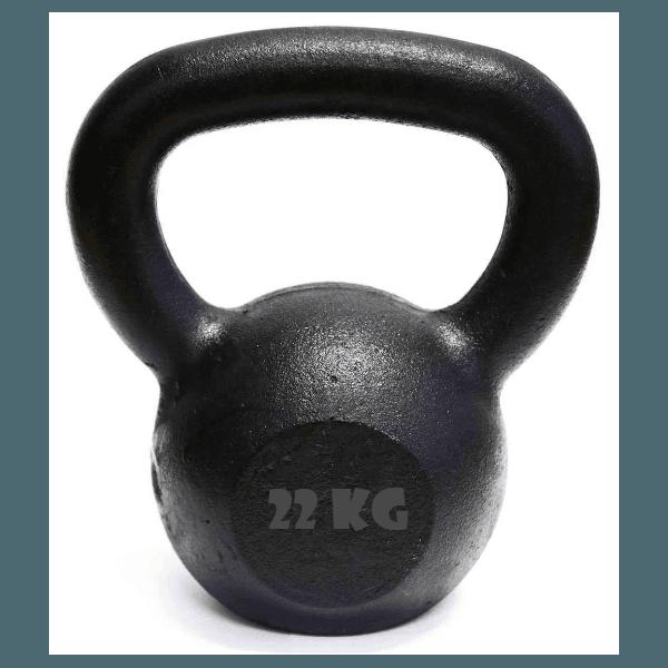 Kettlebell Pintado 22 Kg Crossfit Treinamento Funcional Musculação