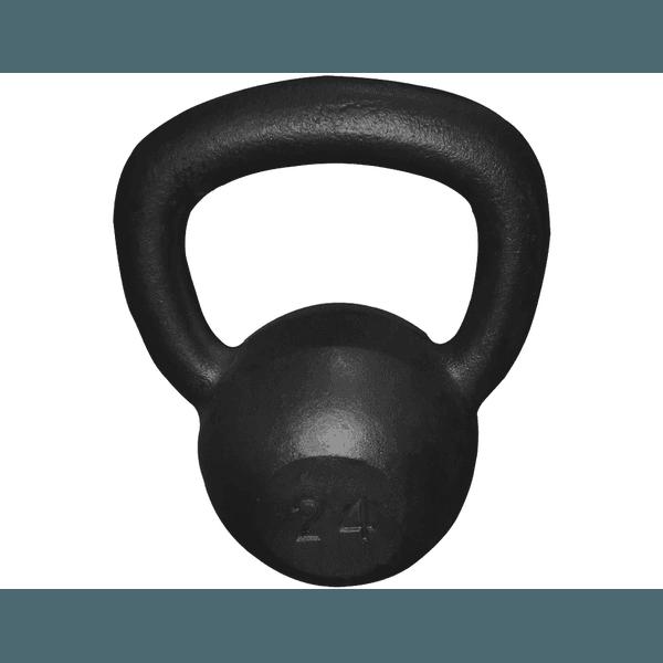 Kettlebell Pintado 24 Kg Crossfit Treinamento Funcional Musculação