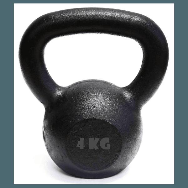 Kettlebell Pintado 4 Kg Crossfit Treinamento Funcional Musculação