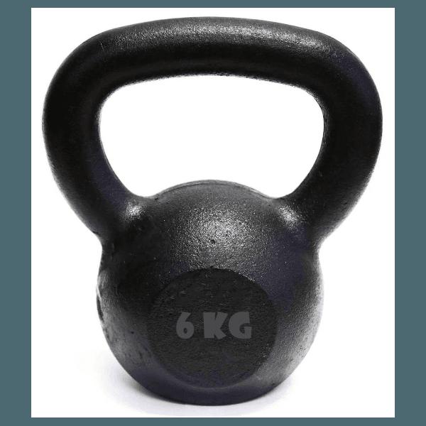 Kettlebell Pintado 6 Kg Crossfit Treinamento Funcional Musculação