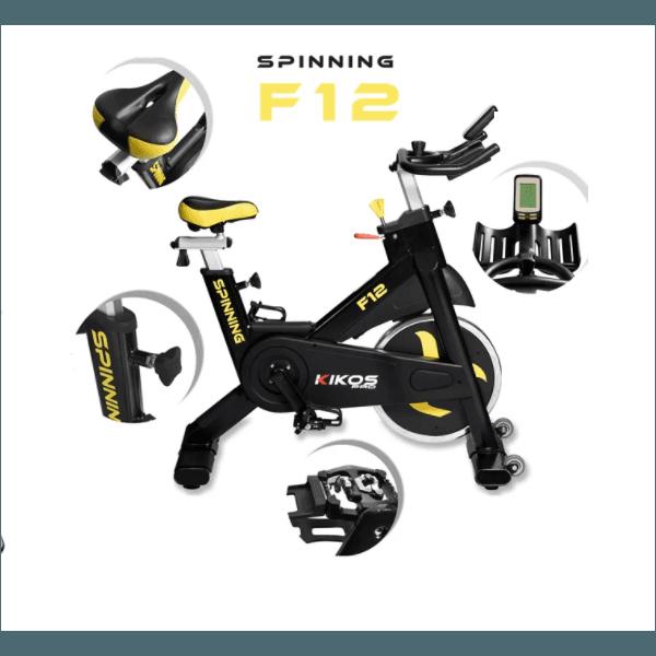 Bicicleta Spinning Kikos Pro F12i