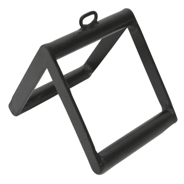 Puxador Triângulo De Academia Musculação Reforçado Preto