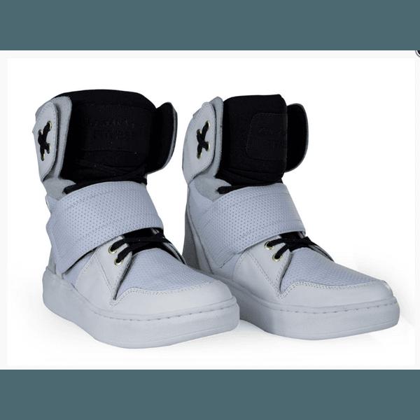Tênis Bota Treino Sneaker Feminino Fitness Branco