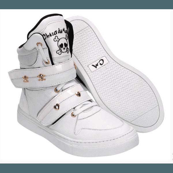 Tênis Bota Treino Sneaker Feminino Fitness Academia Branco