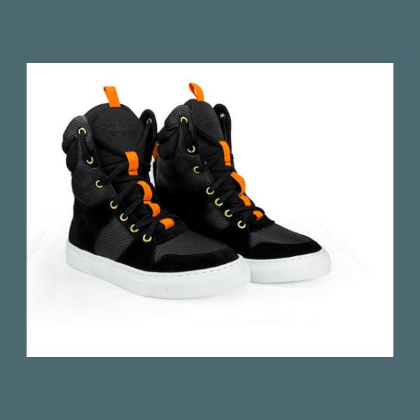 Tênis Bota Treino Sneaker Feminino Fitness Preto Academia