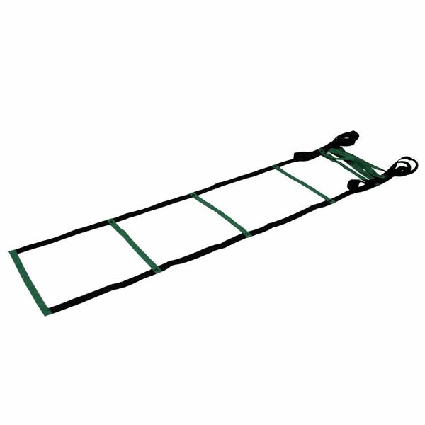 Escada de Agilidade Funcional 3 Unidades e DVD - Verde