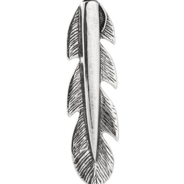 Pingente Pena em Prata 925