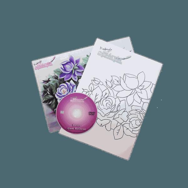 DVD com Projeto Rosas Com Reflexo