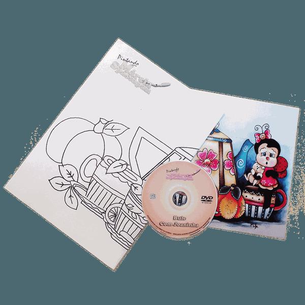 DVD com Projeto Alice Loirinha