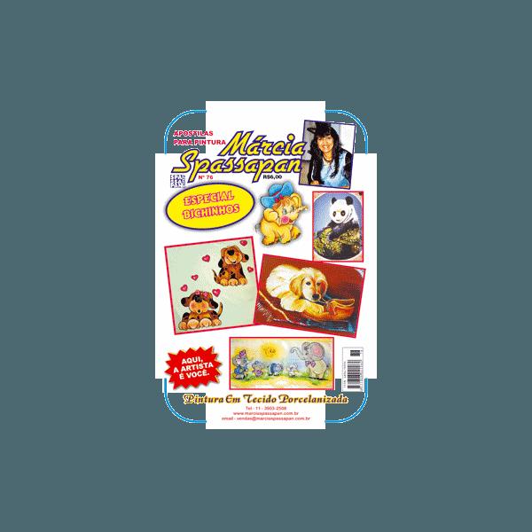 Apostila Para Pintura Bichinhos Edição 76