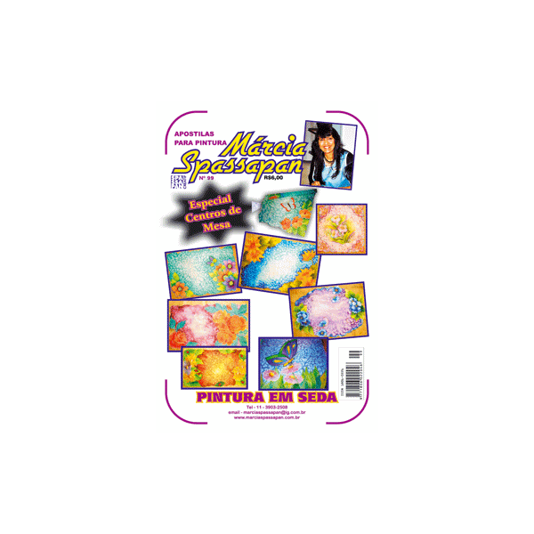 Apostila Para Pintura em Seda Edição 99