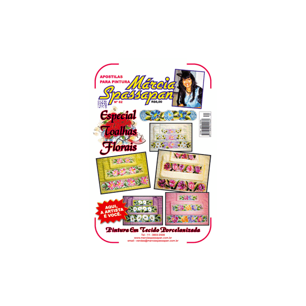 Apostila Para Pintura Flores Edição 82