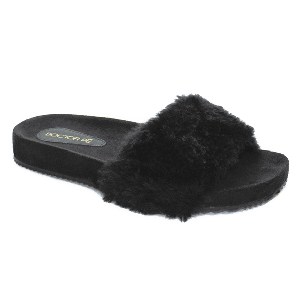 SLIPPER HOME - Preto - 160001-PT