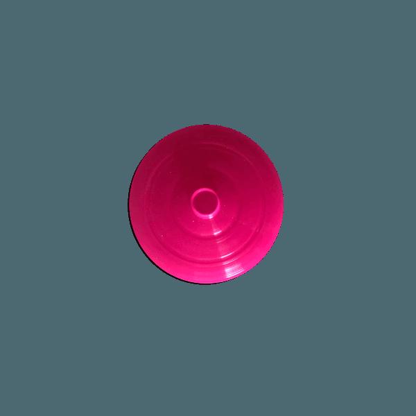 Tampa para Copo Twister 700ml c/ canudo - Caixa com 50 tampas e canudos Transparentes | ROSA