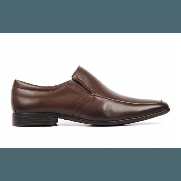 Sapato Social Quebec Slim Flex Brown