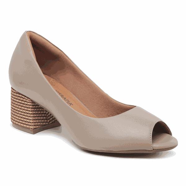 Sapato Feminino Peep Toe Sapatoterapia Fendi