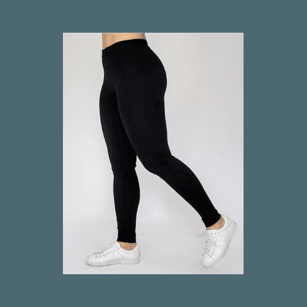 Calça K2B Legging Cós Normal - 4cm - PRETA