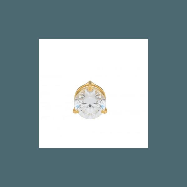 Pingente Ponto de Luz em Ouro