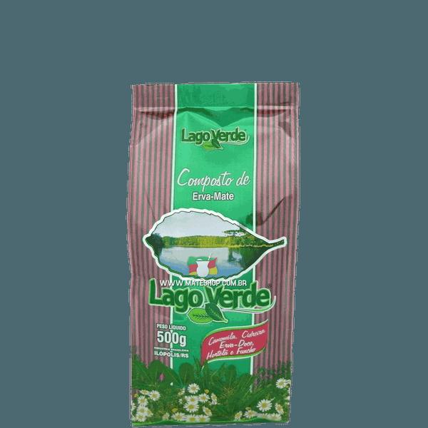 Erva-Mate Lago Verde Composto 500g