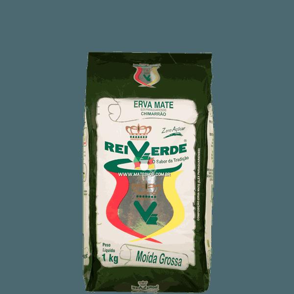 Erva-Mate Rei Verde Moída Grossa 1Kg