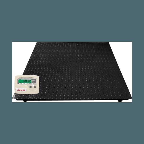 Balança de plataforma UR 10000 LIGHT 1500/500, 1,50 X 1,50m