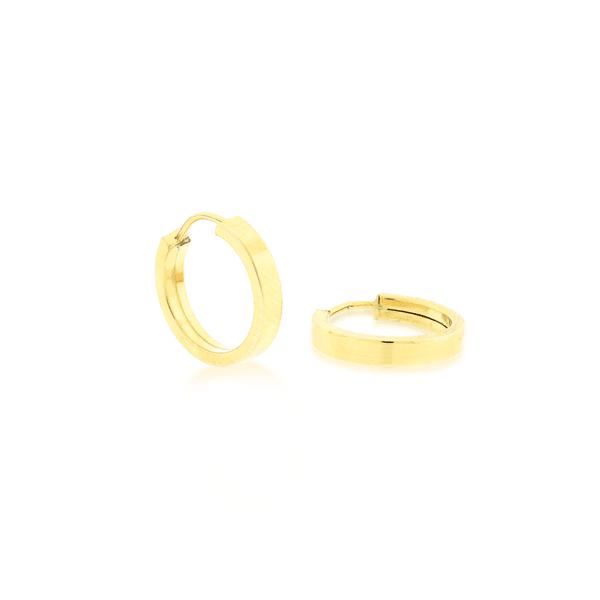 Brinco de Argola Pequeno Ouro 18K