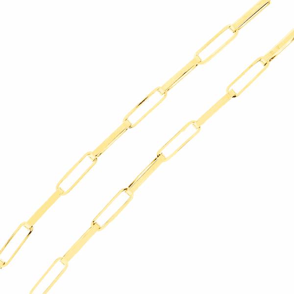 Corrente de Ouro18K Malha Cartier