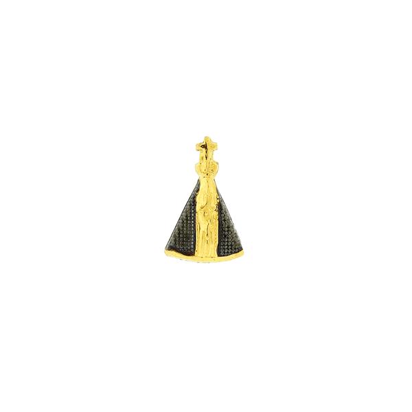 Pingente em Ouro 18K N. S. Aparecida Mini