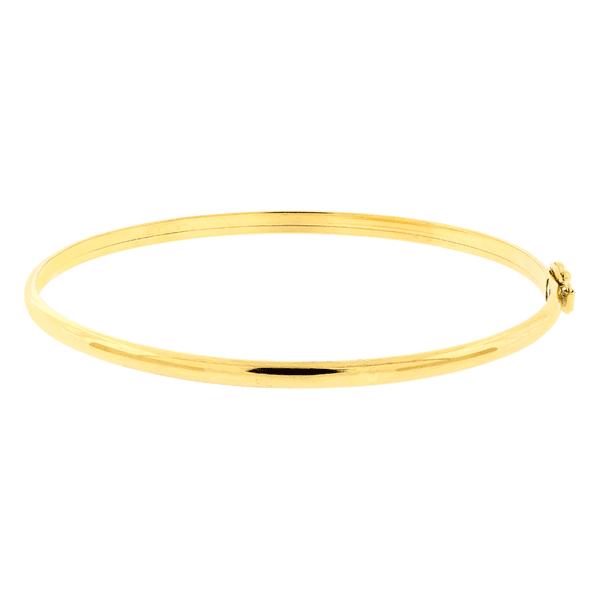 Bracelete de Ouro Amarelo 18K Feminino