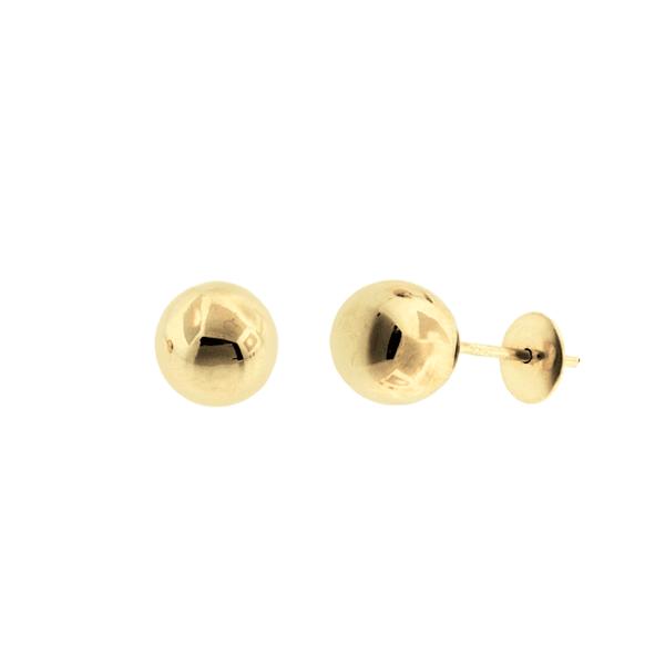 Brinco Bola em Ouro 18K - 7mm
