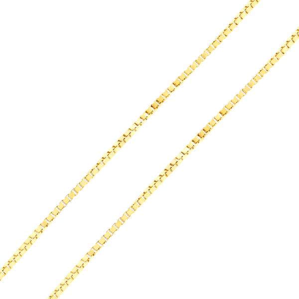 Corrente Veneziana 45cm Ouro 18K