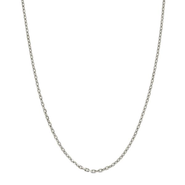 Corrente Cartier de Ouro Branco 18K 45cm