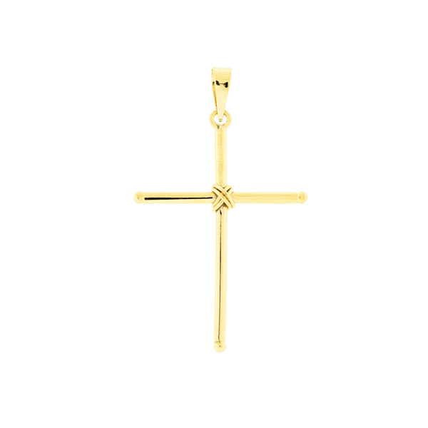 Pingente de Cruz Ouro 18K Grande